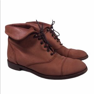 1937 Footwear Lace Up Boots Made in Italy
